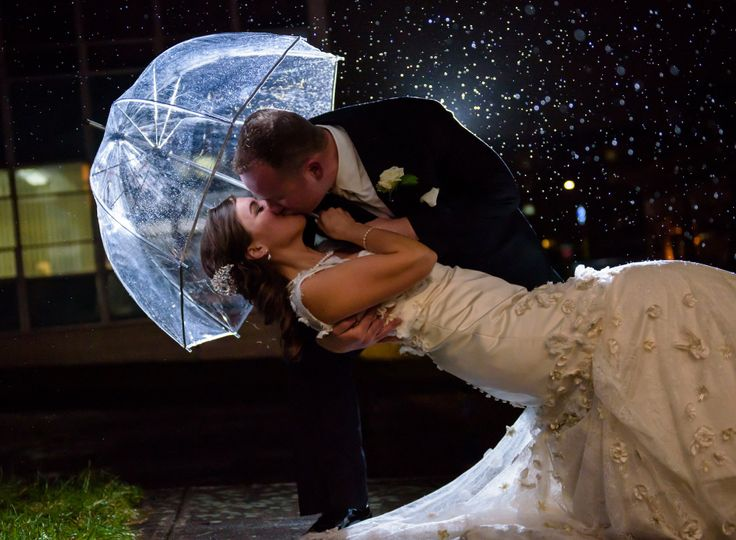 If it rains on your wedding day, don't worry.... It's still gorgeous!