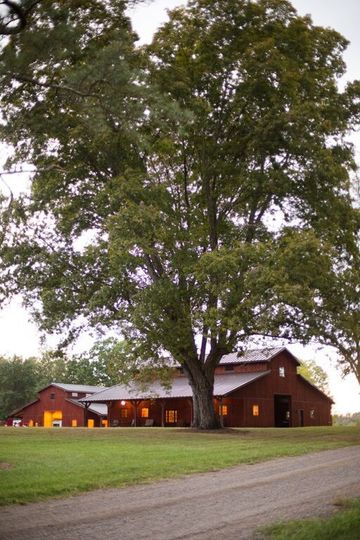 Exterior view of the Covey Creek Farm