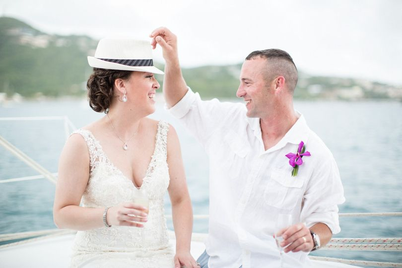 Destination wedding, St. Thomas USVI