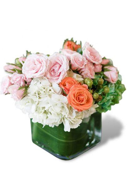 blushing garden miami gardens flower delivery aven