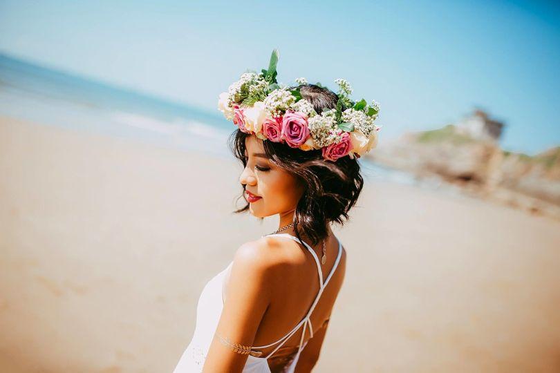Lovely Hawaiian Weddings, Beautiful Beach Bride