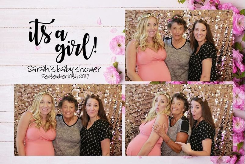 PKC Photobooth baby shower