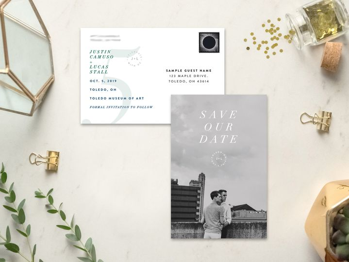 Custom Save the Date Postcards