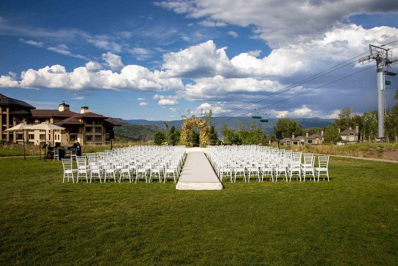 Vista Lawn Ceremony