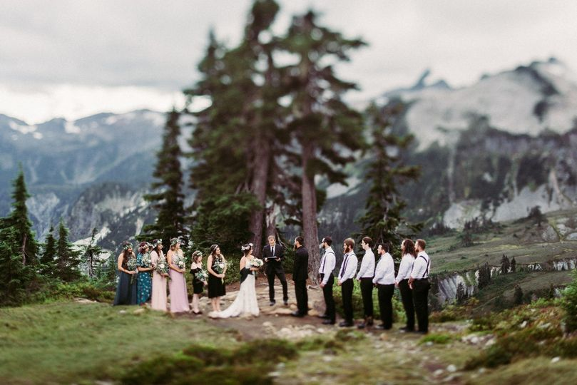 Elopement in the montains