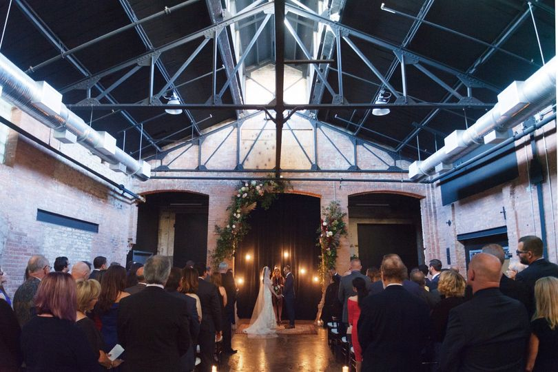 Ceremony in the Atrium