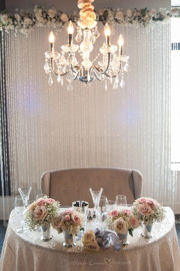 Sweetheart table, Photo: Alexis Emm Photo