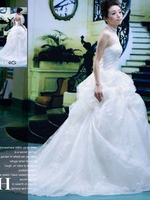 Angel's Wear wedding gowns use high quality materials and are made according to high market...