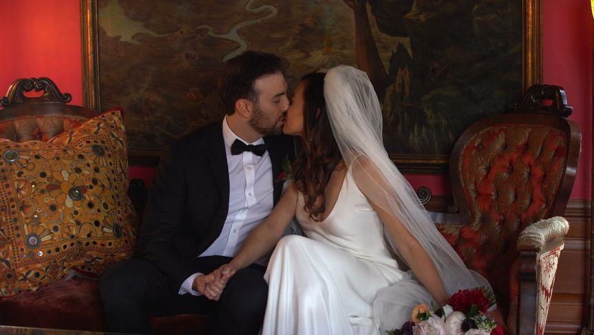 Hollywood estate wedding