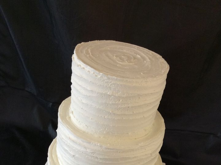 Tmx 1473533087343 Modern Buttercream Nesconset wedding cake