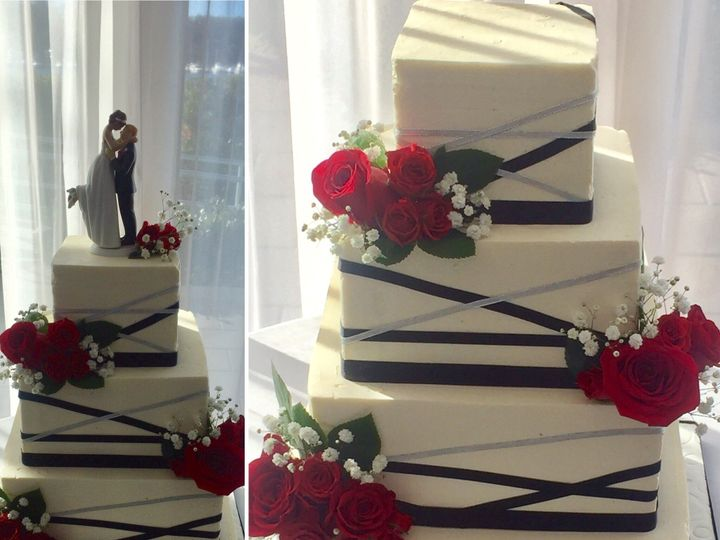 Tmx 1492993362968 Wedding 4 Nesconset wedding cake