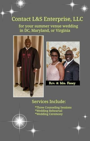 Contact us for your counseling and ceremony needs!