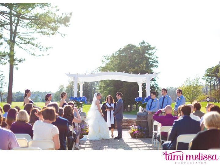 Tmx 1426522525504 Ceremony Pergola Egg Harbor City, NJ wedding venue