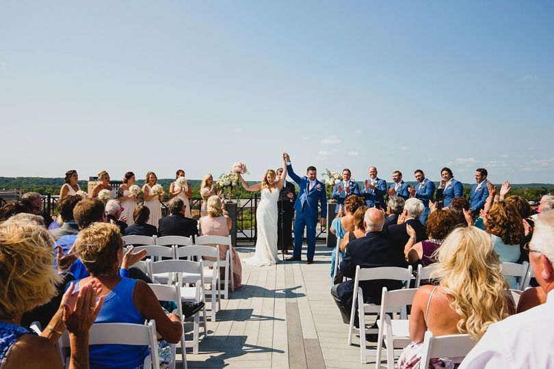 Rooftop wedding - Chris McGuire Photography