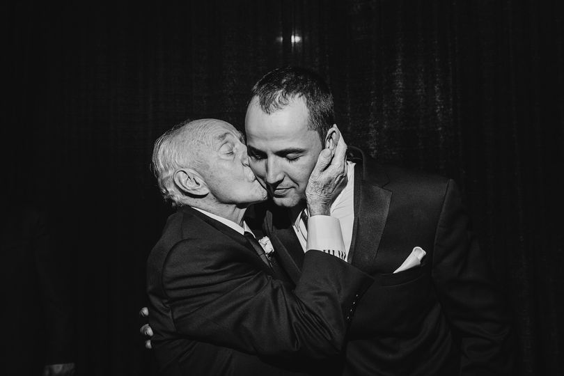 Grandfather's kiss - Chris McGuire Photography