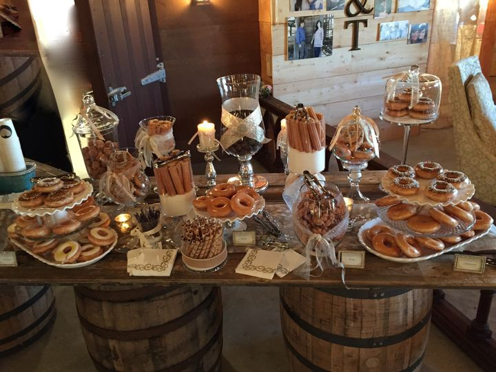 Pastry table