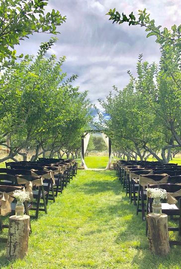 Orchard Ceremony