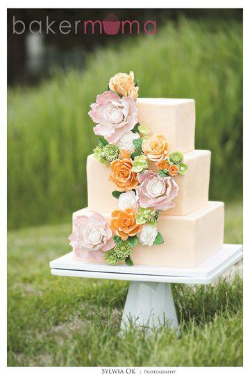 bakermama flower cake 3 logo
