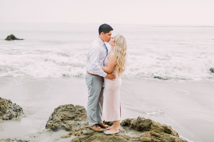 Engagement Session in Malibu