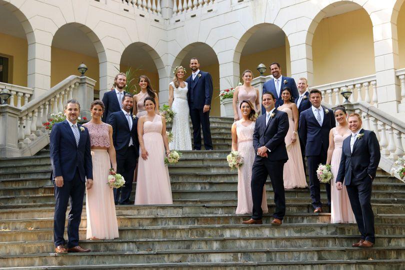 Airlie Warrenton, Virginia Bridal party