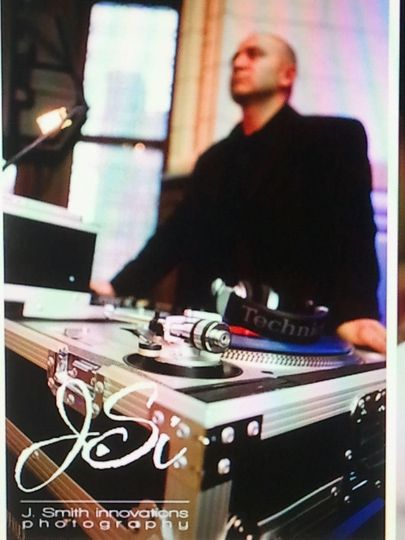 DJ set-up