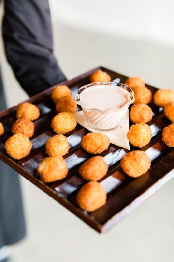 Fried Mac-n-cheese bites. Photo by Amanda Olivia Photo