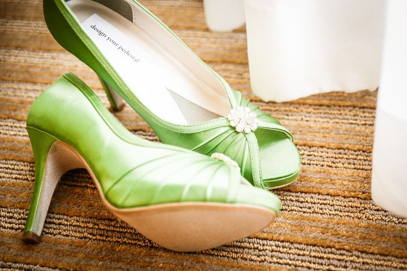 Greenville, SC 10/13/12 Wedding shoes by Design Your Pedestal Photography by Aperture Vision...