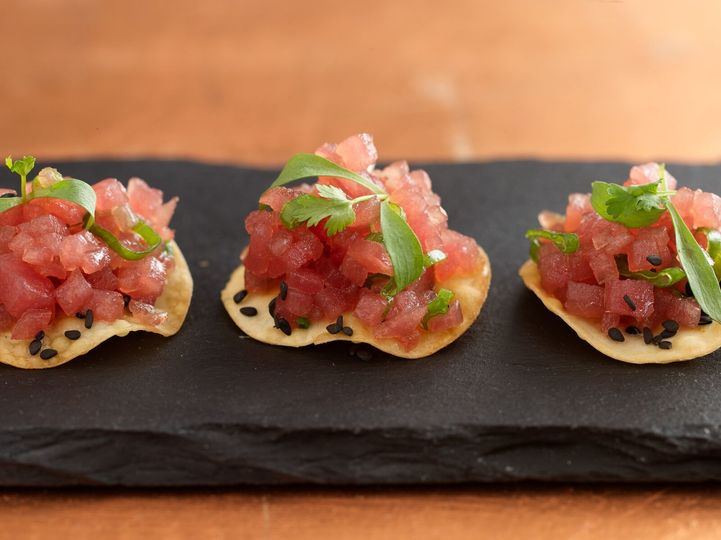 Passed Hors D'oeuvres Tuna Tartar