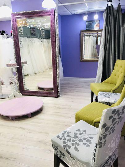 Bridal Fitting Area