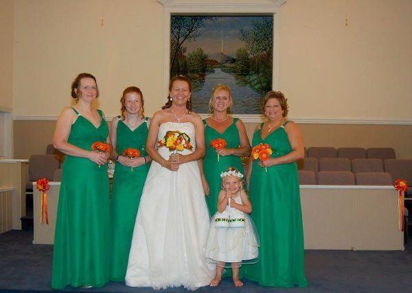 Tmx 1332881432660 Angiewithmaids North Wilkesboro wedding dress