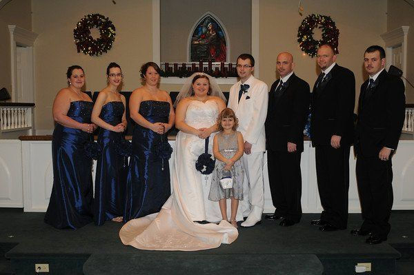 Tmx 1332881666485 JRBridgetbridalparty North Wilkesboro wedding dress