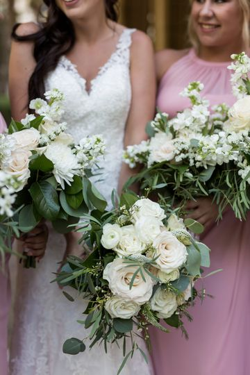Powel Crosley wedding bouquets