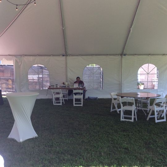 30x40 Tent with Side Windows! Works great for any type of event
