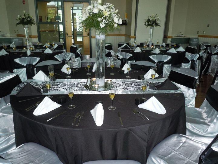 Tmx 1452021284219 Black Silver Community Room Thorofare wedding venue