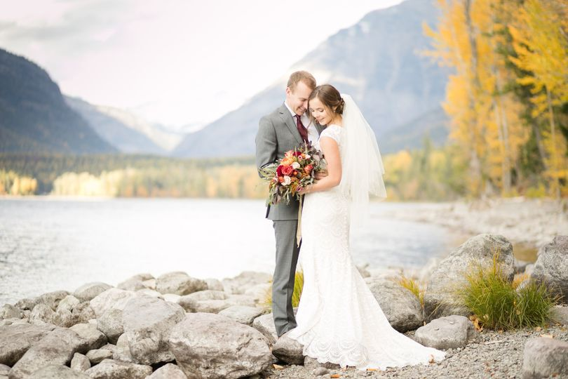 Eloped in Glacier Nat'l Park