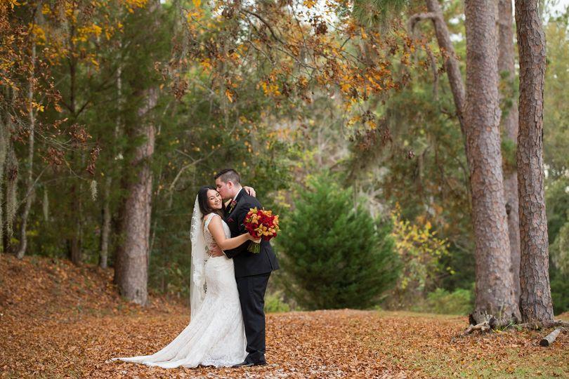 Elegant fall wedding at Mission San Luis