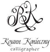 Rosann Konieczny Calligrapher