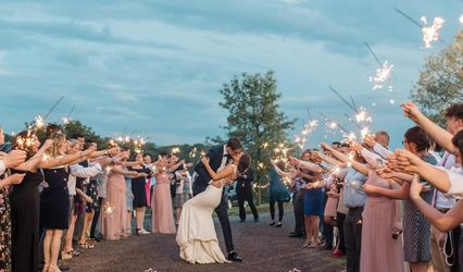Love Wedding Sparklers 2
