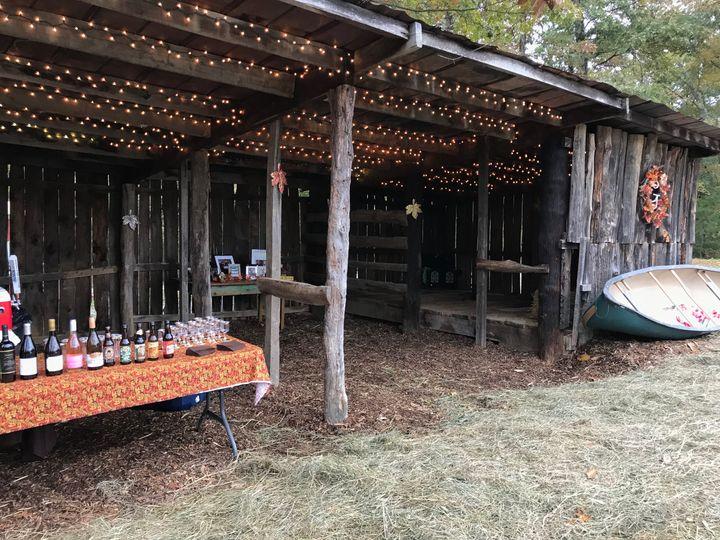 Bar Shed & Conversation Area