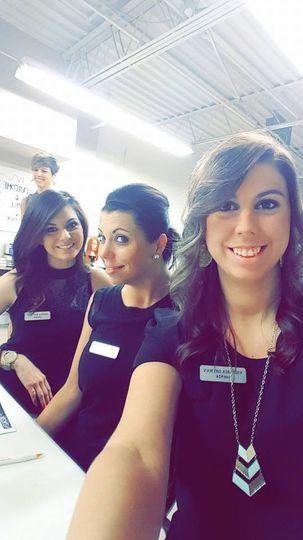Alicia, Beth and Tori