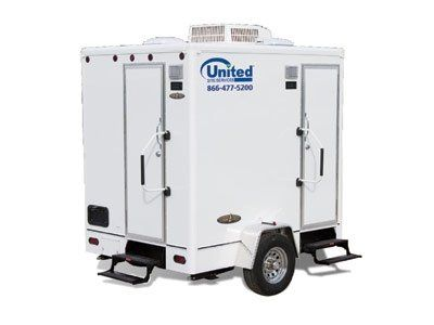 One of our fine Advantage series restroom trailers.