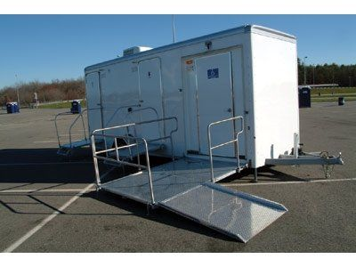 We have many restroom trailers to choose from for your outdoor wedding and/or reception. Most come...