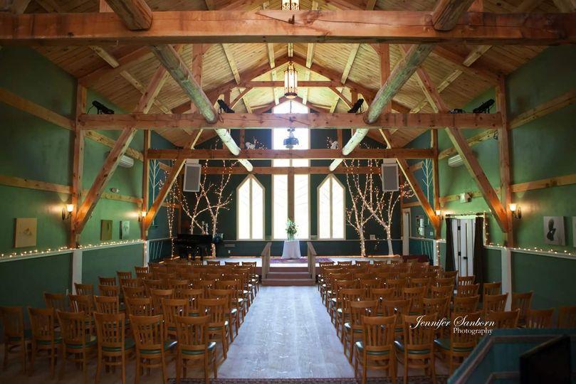 Ceremony in Main Barn