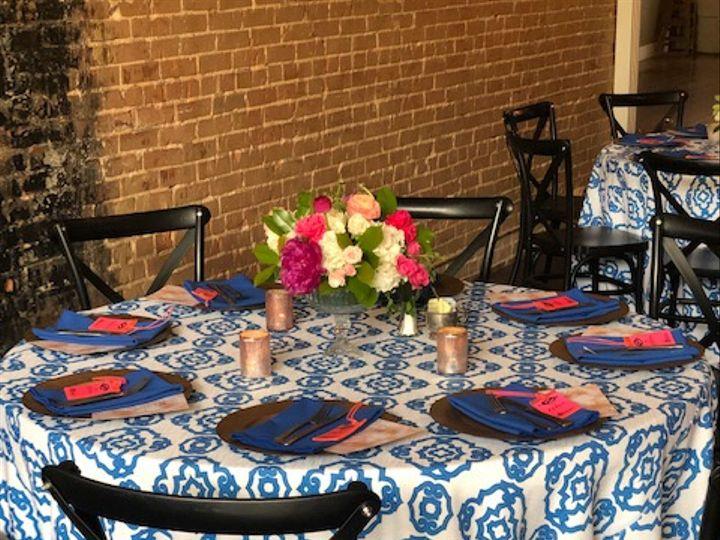 Tmx Blue Honeycomb And Royal Napkin 2 51 51022 160157386745672 McKinney, TX wedding rental