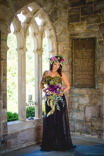 Featured in Borrowed & Blue - Edgy Elegance Styled Photoshoot by Ashley Vause Events...