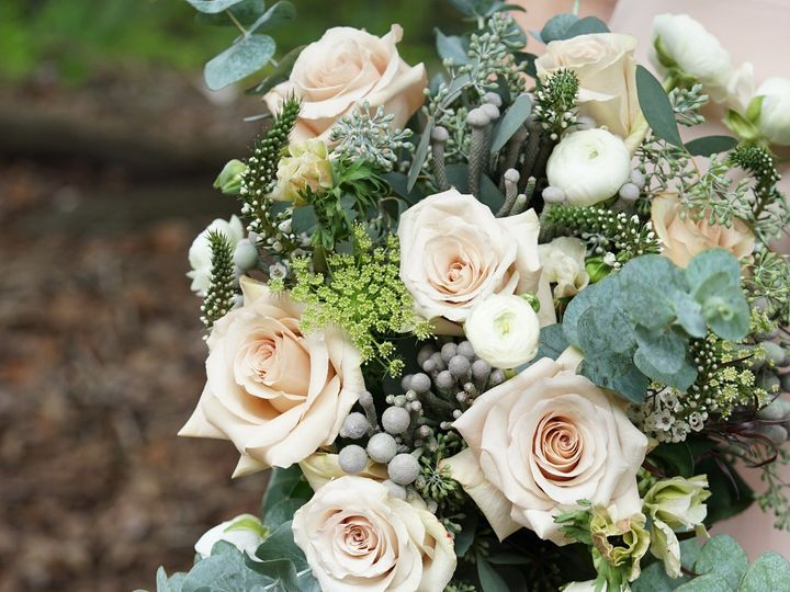 Tmx 1473085288719 Beigeandgreenbridalbouquetenvironmental9 Raleigh, NC wedding florist