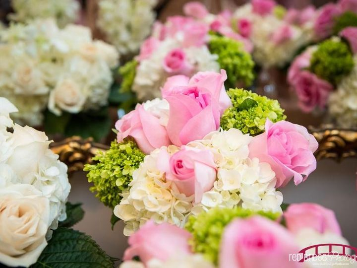 Tmx 1478713077889 Elliotwinslowredbridgephotographyprep0947low Raleigh, NC wedding florist