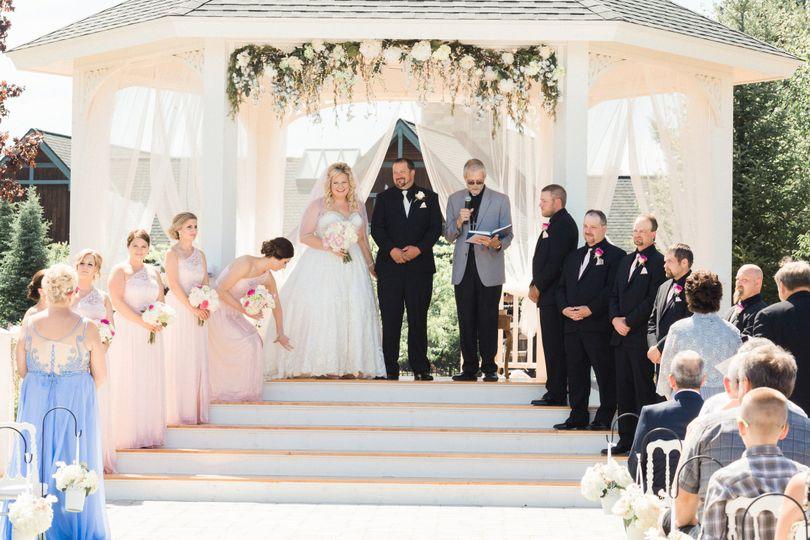 Ceremony newlyweds