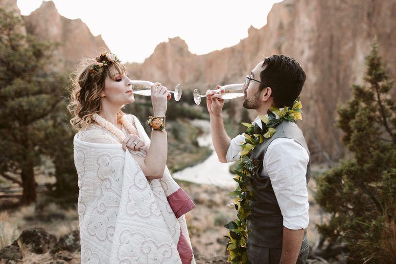 Marisa & Andrew // Smith Rock