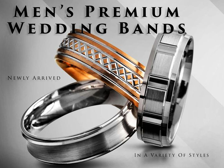 Tmx 1462984953932 Mens Bands 3 Ring Ad Cockeysville wedding jewelry